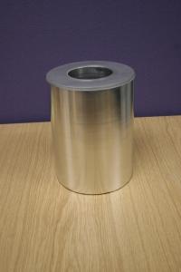 Coating deposited on to 152 mm diameter Al cylinder